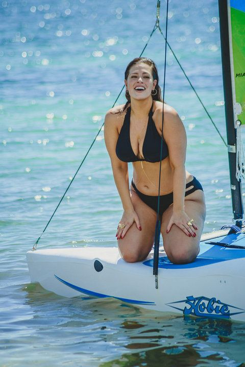 Ashley Graham Bikini EMBED