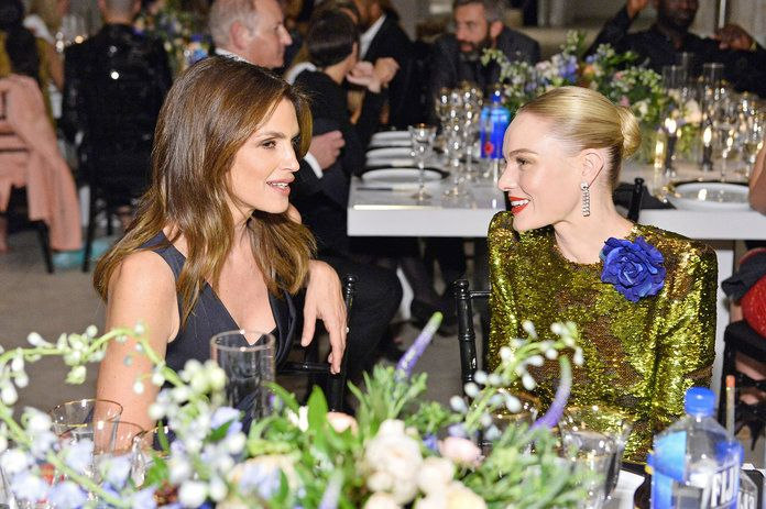 Cindy Crawford and Kate Bosworth