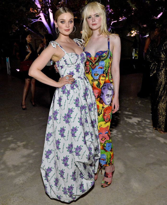 Bella Heathcote and Elle Fanning