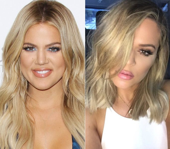Khloe Kardashian - Hair Transformation - Slide