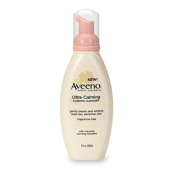 Aveeno的 Ultra-Calming Foaming Cleanser
