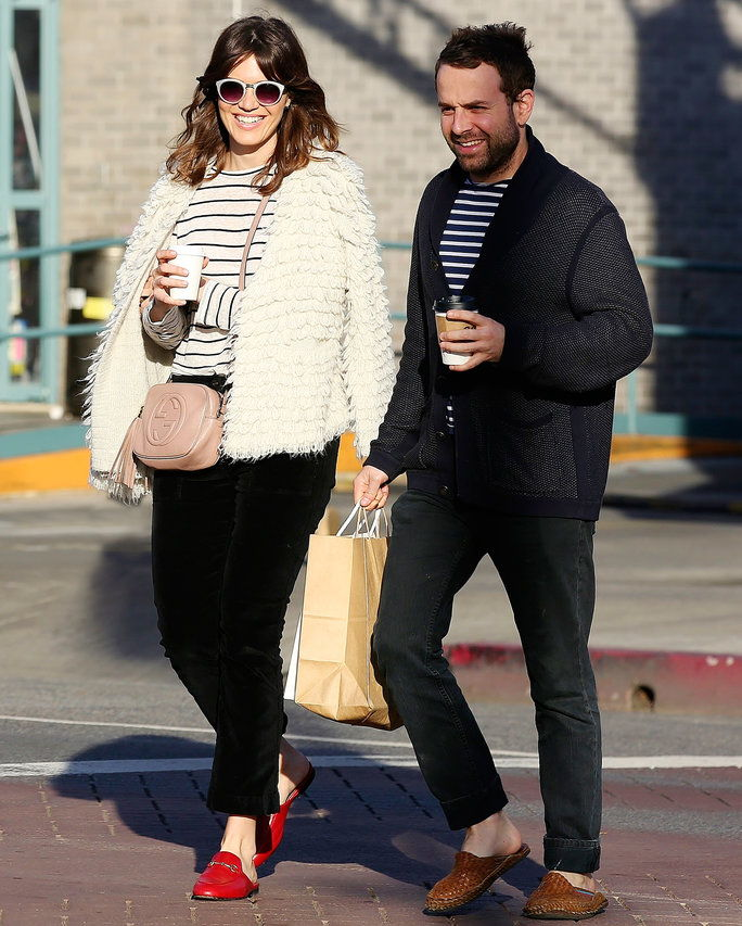 Mandy Moore and boyfriend Taylor Goldsmith