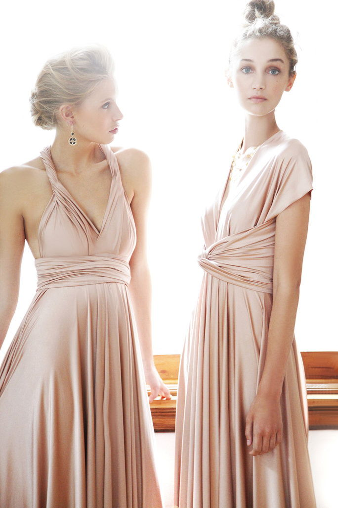 Rosenvand Classic convertible bridesmaid dresses by TwoBirds