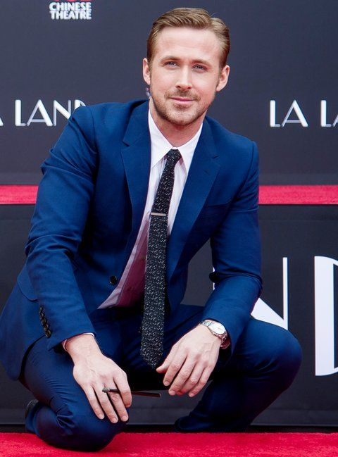 艾玛 Stone and Ryan Gosling Hand & Footprint Ceremony - 2