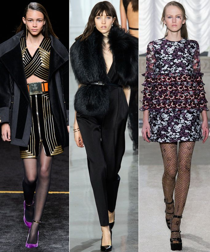 Balmain look 41, Jason Wu look 31, Giamba look 2