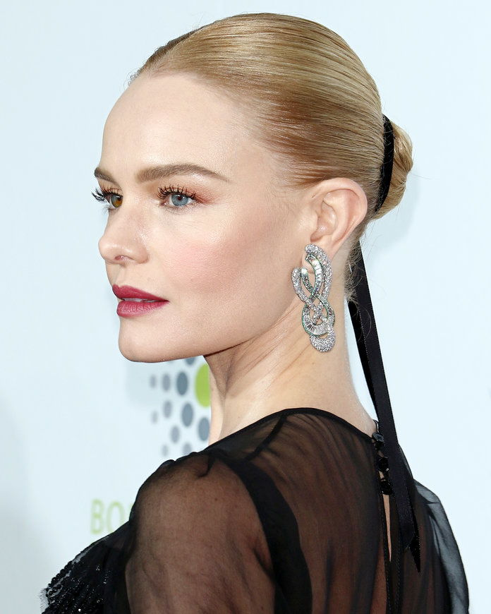 Kate Bosworth's Ribbon-Accented Bun