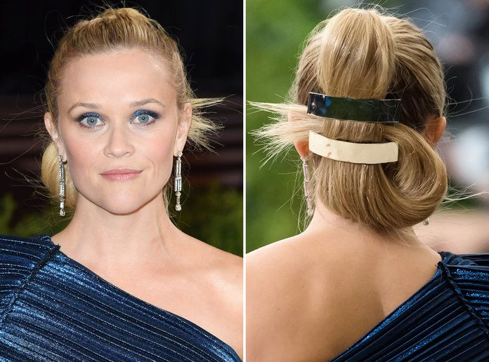 Reese Witherspoon's Ponytail and Barrette