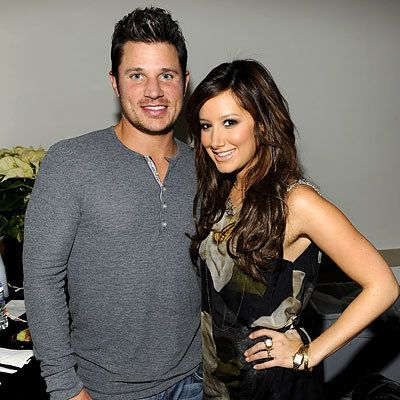 Nick Lachey and Ashley Tisdale, 2008 Z100 Jingle Ball, New York City