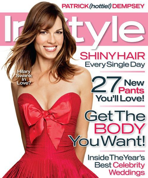 Med stil Covers - February 2007, Hilary Swank