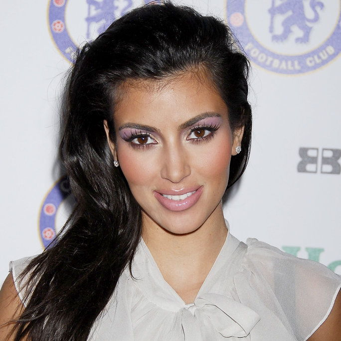 金 Kardashian arrives at an exclusive party for the Chelsea Football Club