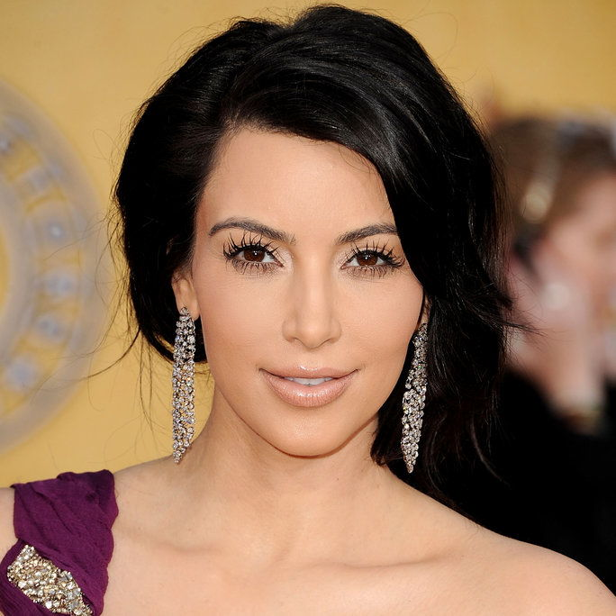 KIM Kardashian at the 17th Annual Screen Actors Guild Awards