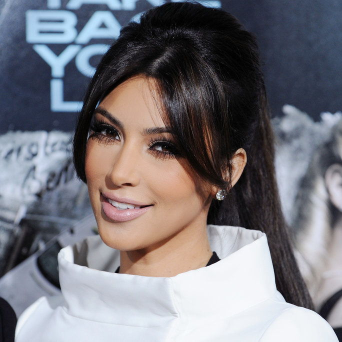 金 Kardashian arrives at the Los Angeles Premiere