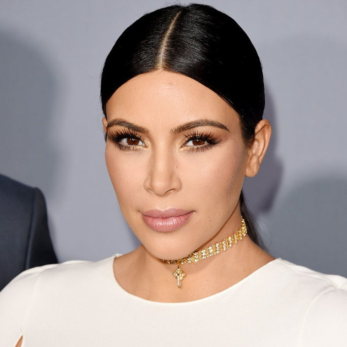 金 Kardashian West attends the InStyle Awards