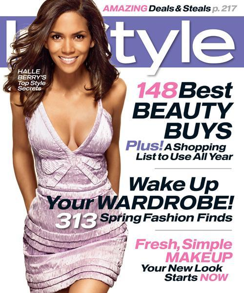 Med stil Covers - April 2007, Halle Berry