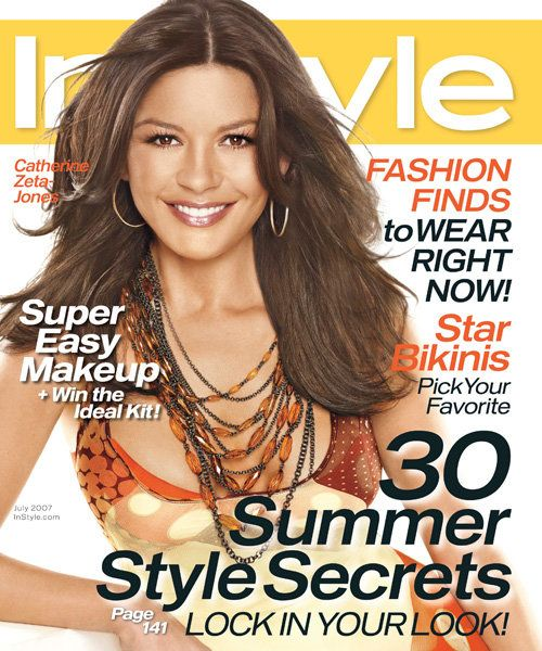 Med stil Covers - July 2007, Catherine Zeta-Jones