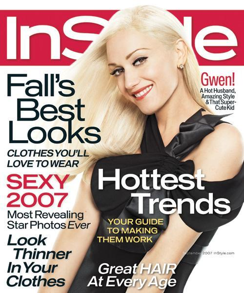 Med stil Covers - September 2007, Gwen Stefani