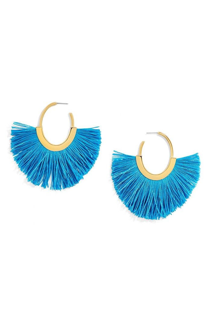 BaubleBar Shani Hoop Earrings