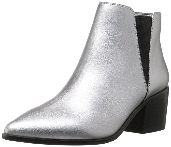 The Fix Rory Block-Heel Pointed-Toe Chelsea Boot