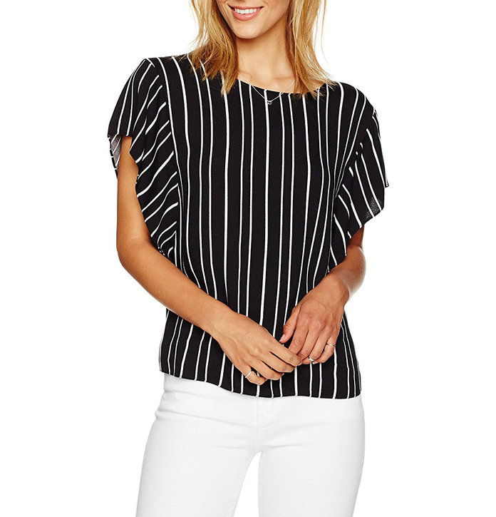 Pariz Sunday Flutter Sleeve Top