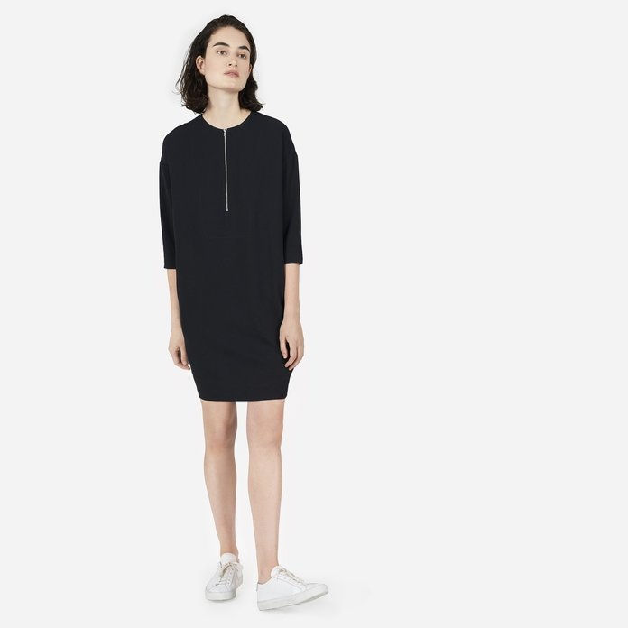 Det Japanese GoWeave Zip-Front Dress
